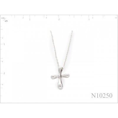 Necklace, TF cross with 16 inches chain.