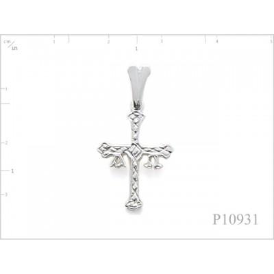 Pendant, small cross.