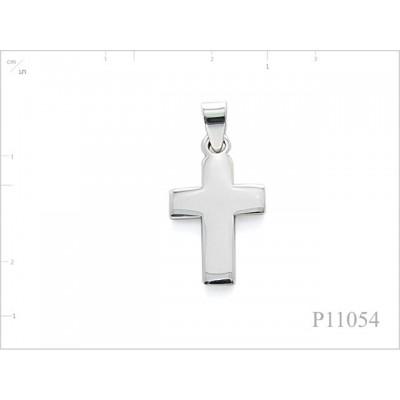 Pendant, 14x23mm cross.